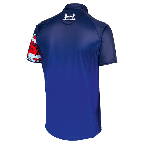 Tri Union Jack Ombre Technical Polo Shirt