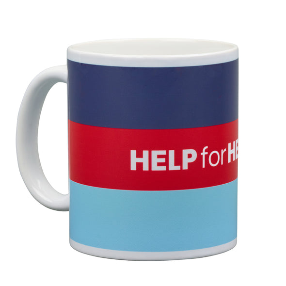 Help for Heroes Tri Colour Honour Mug