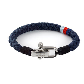 Help for Heroes Tri Flash Cotton Bracelet