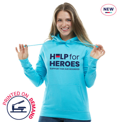 Help for Heroes Turquoise Honour Pullover Hoody