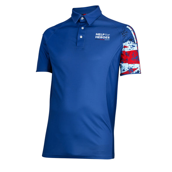Help for Heroes Union Jack Technical Polo