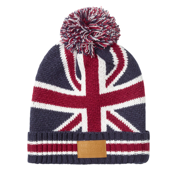Help for Heroes Union Jack Fortitude Bobble Hat