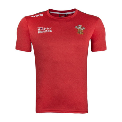 Help for Heroes Wales Rugby Technical T-Shirt