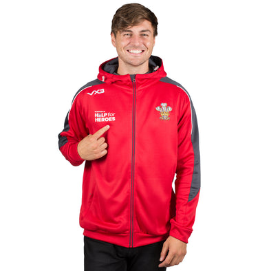 Help for Heroes Wales Zipped Rugby Hoody