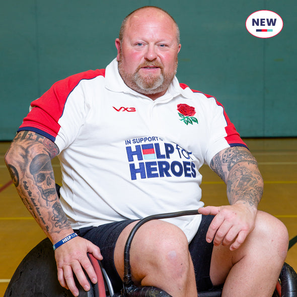 Help for Heroes England Rugby Shirt