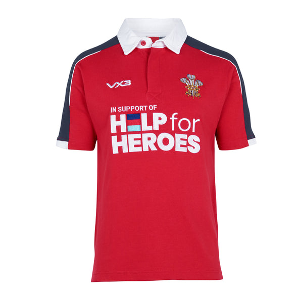 Help for Heroes Wales Rugby Shirt