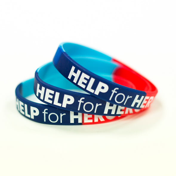 Help for Heroes Force for Good Wristband - Small