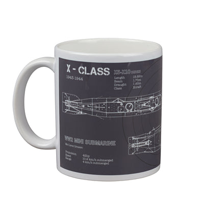 Help for Heroes Graphite X-Class Mug