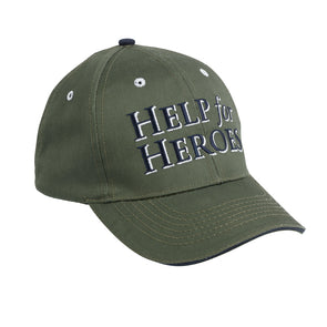 Help for Heroes Clover Green Shadow Baseball Cap