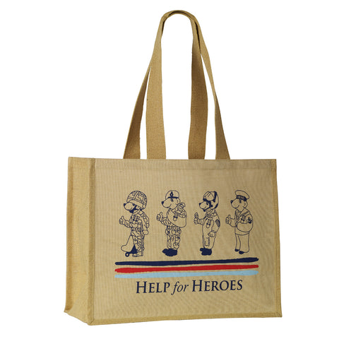 Help for Heroes Juco Bear Silhouette Bag