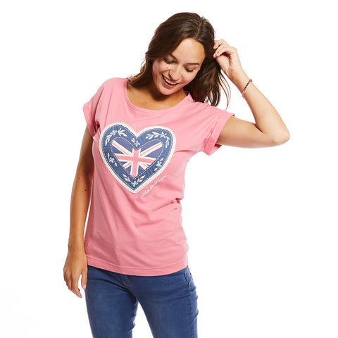 Cherry Blossom heart t-shirt
