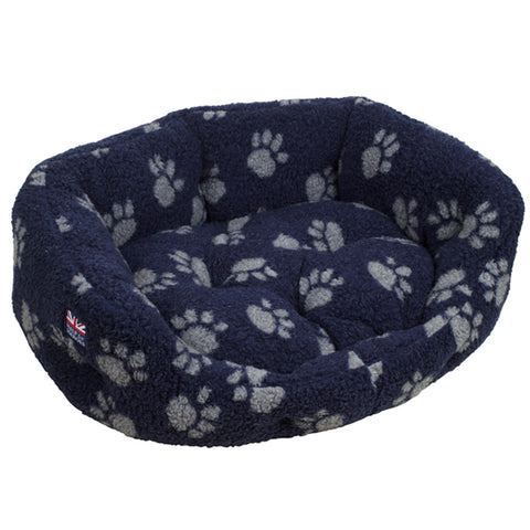 Help for Heroes Paw Print Large Dog Bed