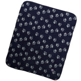 Help for Heroes Large Paw Print Dog Blanket
