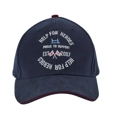 Help for Heroes Navy Proud to Support Baseball Cap