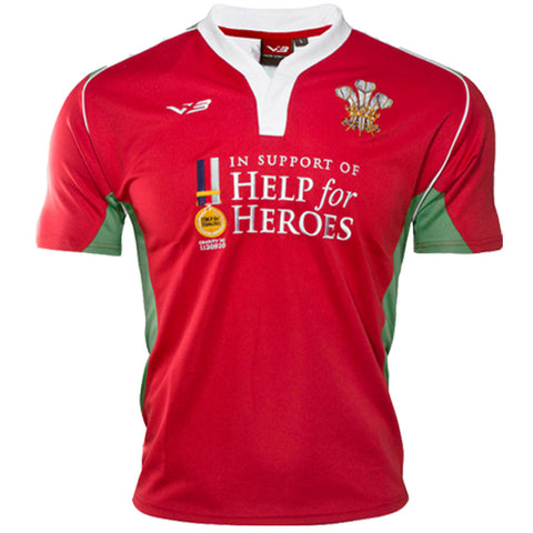 Lovell Wales Rugby Shirt