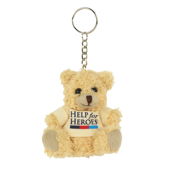 Help for Heroes Small Bear Keyring