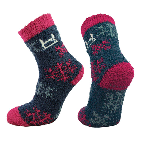 Help for Heroes Snowflake Bed Socks