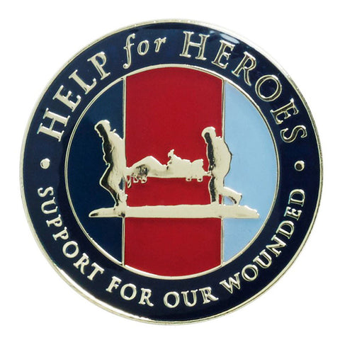 Help for Heroes Pride Lapel Pin