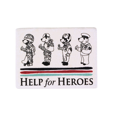 Help for Heroes Four Bears Stone Magnet