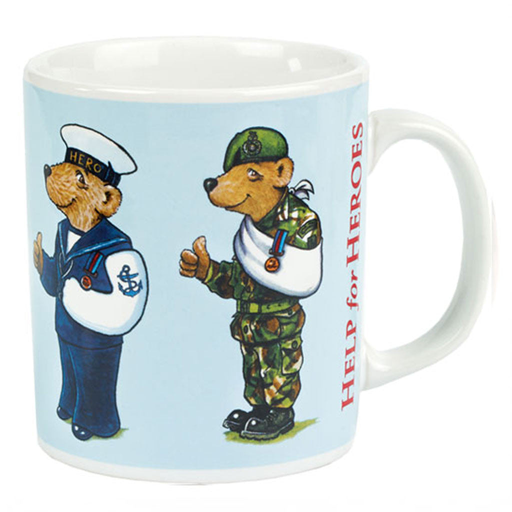 Help for Heroes Bear Squad Mug