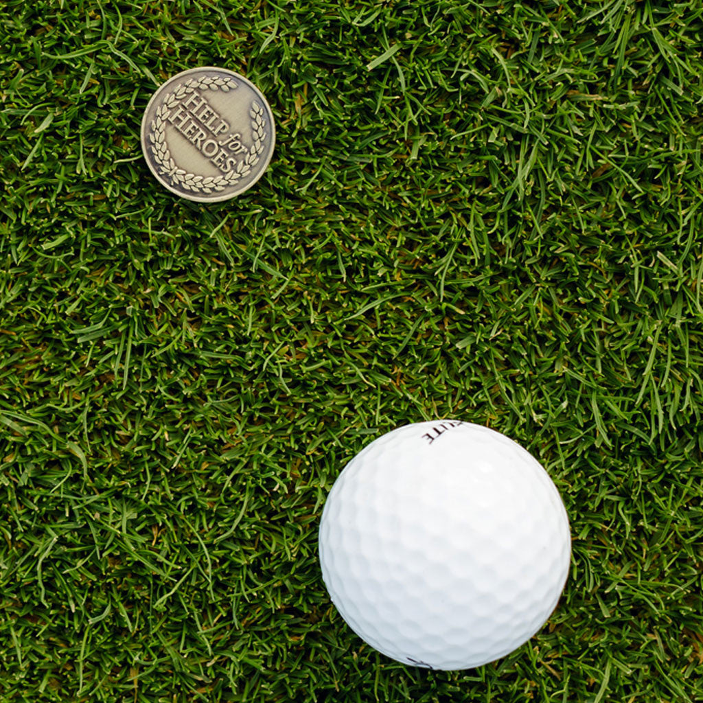 Help for Heroes Golf Ball Marker
