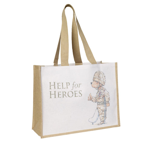 Help for Heroes Bear Juco Bag