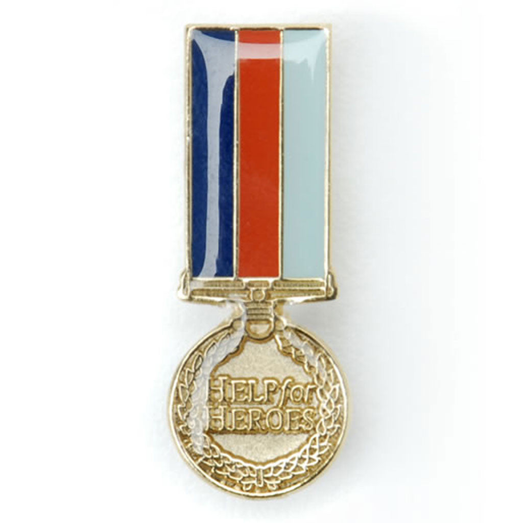 Help for Heroes Medal Pin