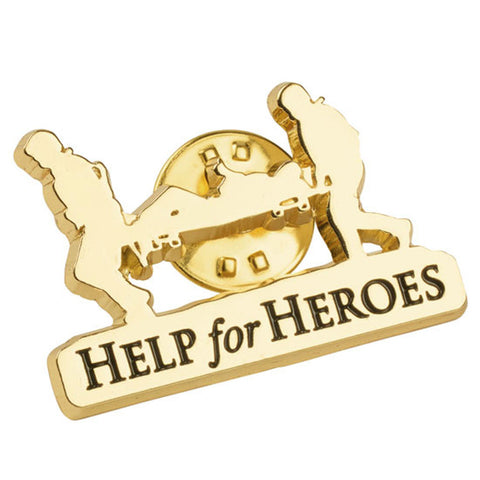 Help for Heroes Stretcher Bearer Pin