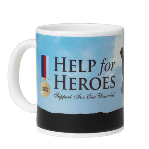 Help for Heroes White Stretcher Bearer Mug