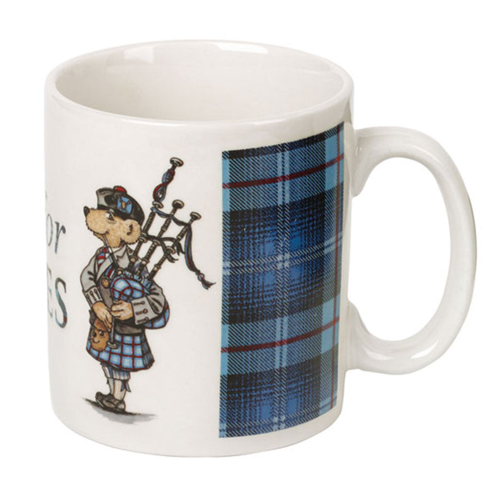 Help for Heroes Tartan Bear Mug
