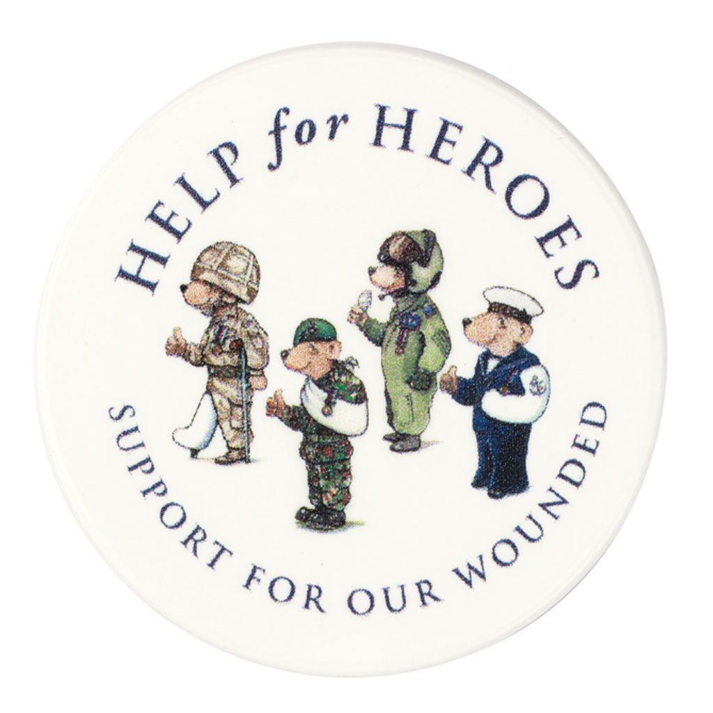 Help for Heroes Team Bear Fridge Magnet