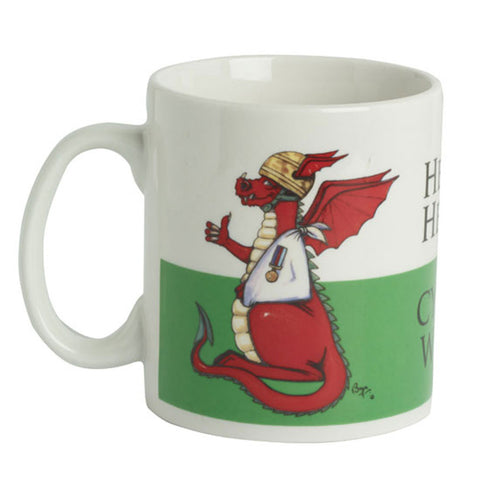Help for Heroes Welsh Dragon Mug