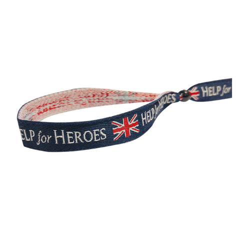 Help for Heroes Festival Flag Wristband