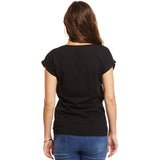 Help for Heroes Black Adore T-shirt