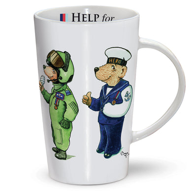 Help for Heroes Bears Latte Mug