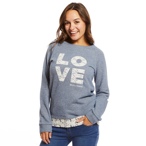 Help for Heroes Love Lace Sweatshirt