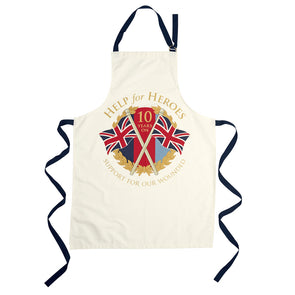 Help for Heroes 10th Anniversary Apron