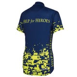 Help for Heroes Fluro Pixel Cycling Shirt