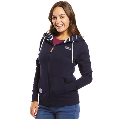 Help for Heroes Navy Dartmouth Zipped Hoody