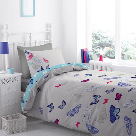 Help for Heroes Butterfly Single Duvet Set