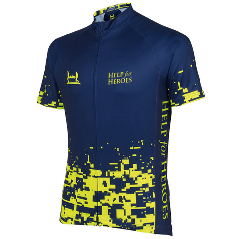 Help for Heroes Fluro Cycling shirt