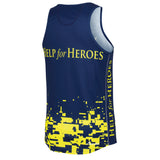 Help for Heroes Fluro Running Vest