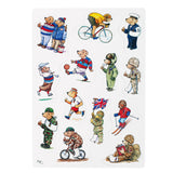 Help for Heroes A5 Hero Bear Fridge Magnet Set