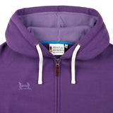 Imperial Purple Hoody Detail