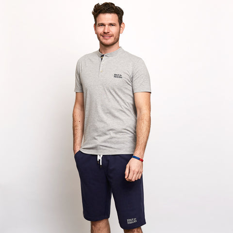 Help for Heroes Navy Sweat Shorts