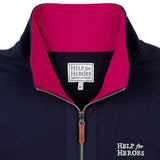 H4H Women's Navy Sweatshirt detail