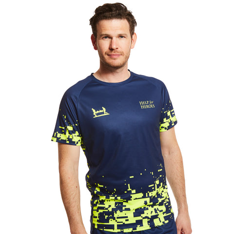 Help for Heroes Fluro Pixel Technical T-Shirt