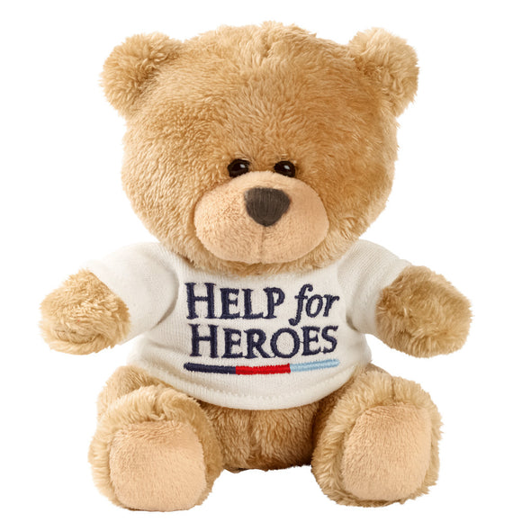 Help for Heroes Small Bear with T-Shirt