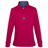 H4H Pink Button Neck top