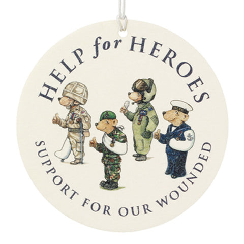 Help for Heroes Team Bear Air Freshener